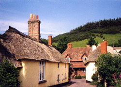 Luccombe village